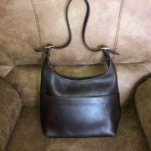 Vintage Coach leather hobo bag #h2h-9058